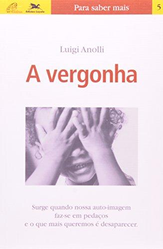 Vergonha (A), livro de Luigi Anolli