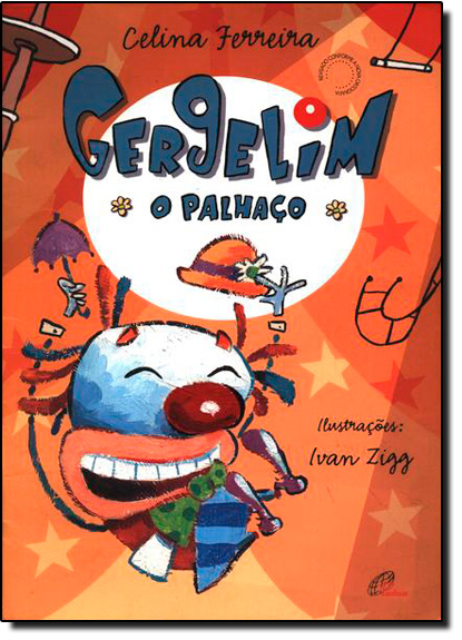 Gergelim: O Palhaço, livro de Celina Ferreira
