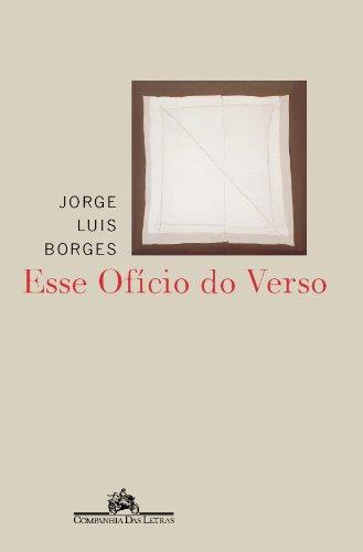Esse ofício do verso, livro de Jorge Luis Borges