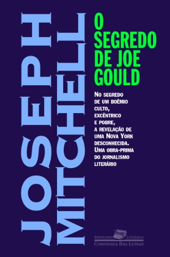 O segredo de Joe Gould, livro de Joseph Mitchell