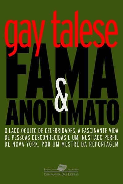 Fama e anonimato, livro de Gay Talese