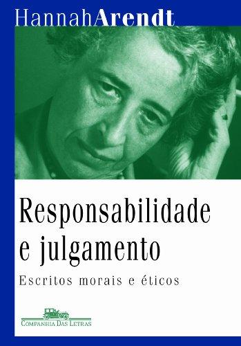 Responsabilidade e julgamento, livro de Hannah Arendt