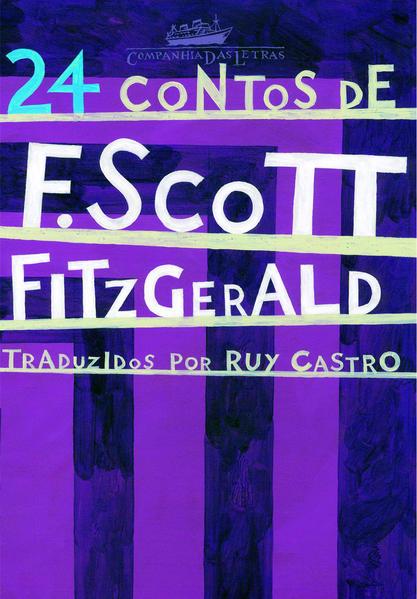 24 CONTOS DE F. SCOTT FITZGERALD, livro de F. Scott Fitzgerald