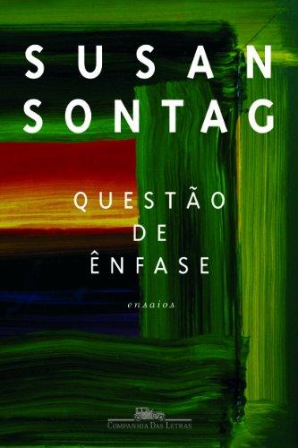 Questão de ênfase, livro de Susan Sontag