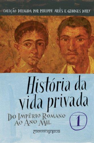 HISTÓRIA DA VIDA PRIVADA VOL. 1 (EDIÇÃO DE BOLSO), livro de Vários Autores