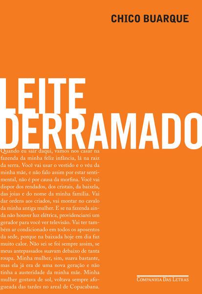 Leite Derramado, livro de Chico Buarque