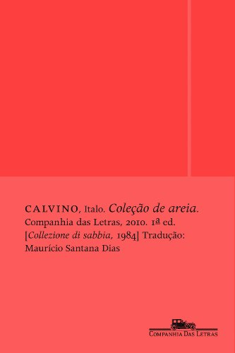 Coleção de areia, livro de Italo Calvino