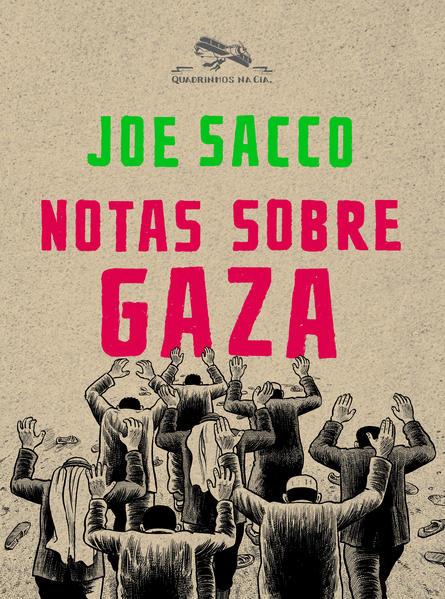 Notas sobre Gaza, livro de Joe Sacco
