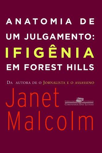 ANATOMIA DE UM JULGAMENTO, livro de Janet Malcolm