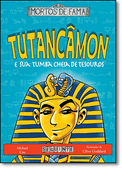 Tutancâmon e Sua Tumba Cheia de Tesouros, livro de Michael Cox