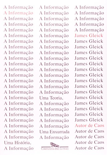 A INFORMAÇÃO, livro de James Gleick
