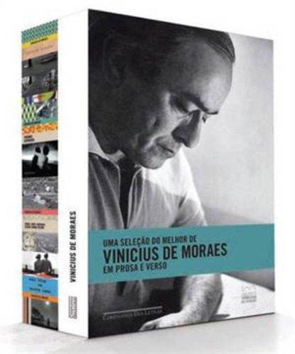 Caixa Vinicius de Moraes - - Uma seleção do melhor de Vinicius de Moraes em prosa e verso, livro de Vinicius de Moraes