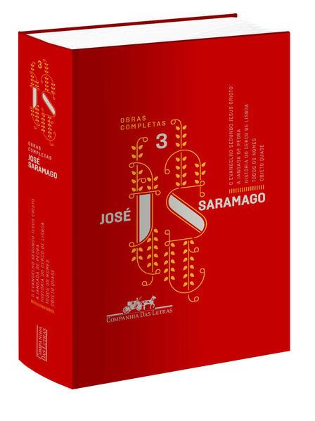 José Saramago - Vol.3 - Obras Completas, livro de José Saramago