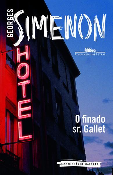 O finado Sr. Gallet, livro de Georges Simenon