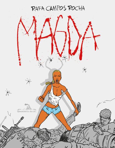 Magda, livro de Rafael Campos Rocha