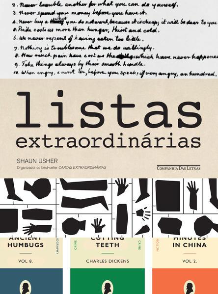 Listas Extraordinárias, livro de Shaun Usher
