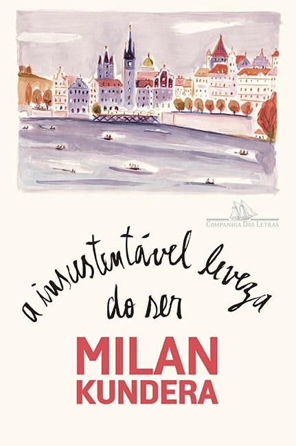 A INSUSTENTÁVEL LEVEZA DO SER, livro de Milan Kundera