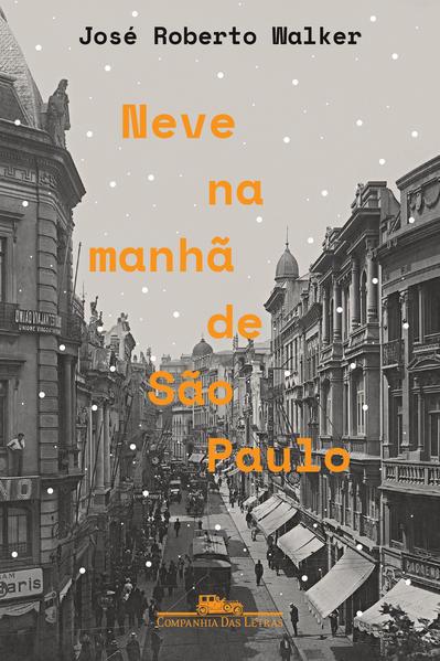 Neve na Manhã de São Paulo, livro de José Roberto Walker