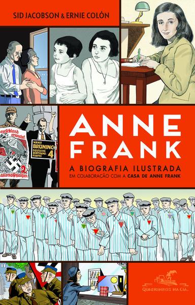 Anne Frank. A Biografia Ilustrada, livro de Sid Jacobson
