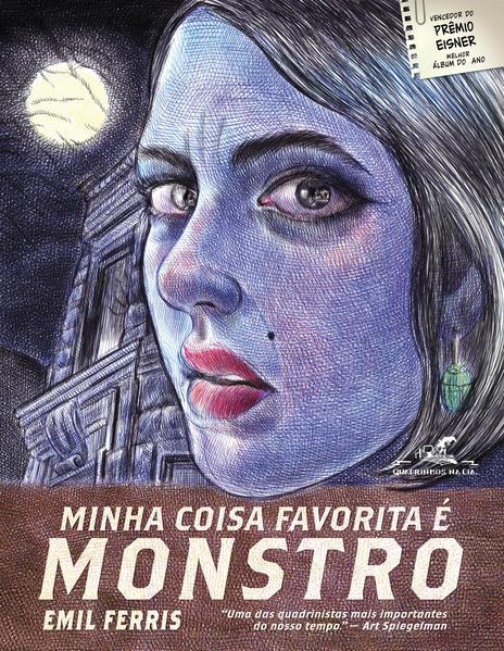 Minha coisa favorita é monstro - Livro 1, livro de Emil Ferris