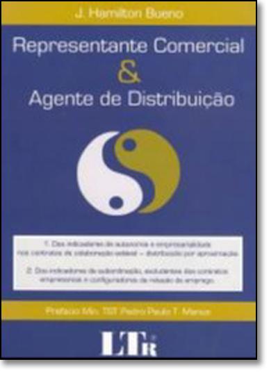 Representante Comercial e Agente de Distribuição, livro de José Hamilton Bueno