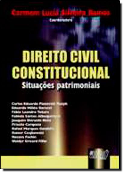 DIREITO CIVIL CONSTITUCIONAL - SITUACOES PATRIMONIAIS, livro de Maria Beatriz Breves Ramos
