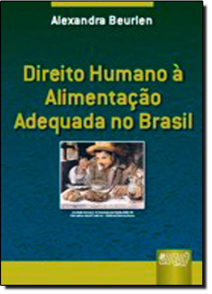DIREITO HUMANO A ALIMENTACAO ADEQUADA NO BRASIL, livro de BEURLEN
