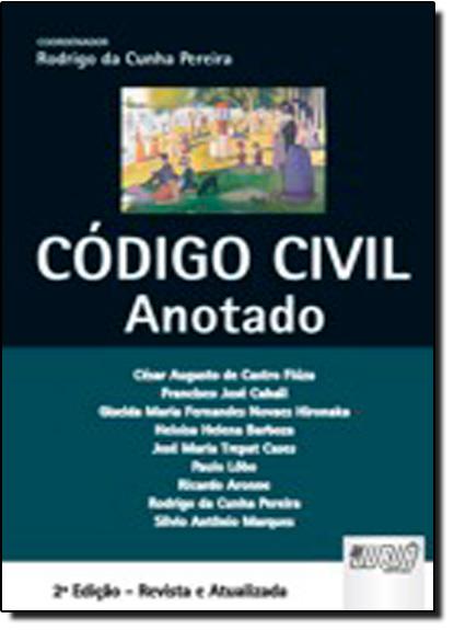 CODIGO CIVIL - ANOTADO - ENCADERNACAO ESPECIAL, livro de Aldemar A. Pereira