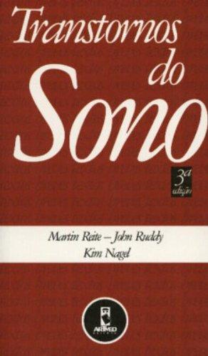 Transtornos do Sono, livro de Martin Reite