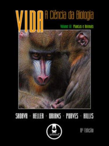 Vida: A Ciencia da Biologia - Vol.3, livro de PURVES/HILLIS/ORIANS