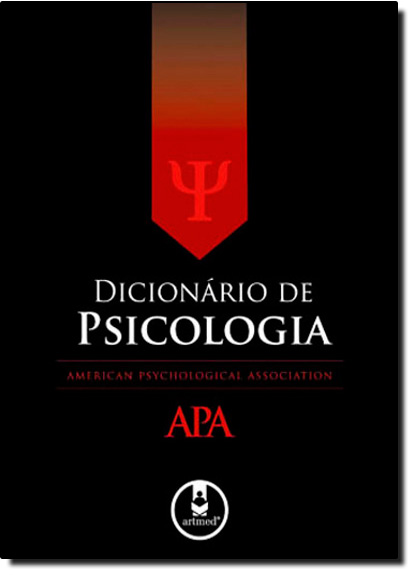 Dicionário de Psicologia Apa, livro de American Psychological Association Apa
