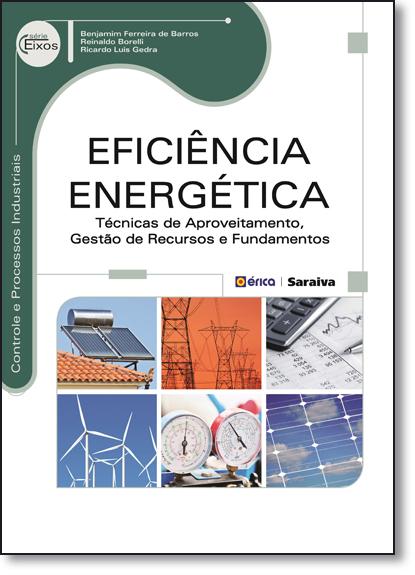 Eficiência Energética: Técnicas de Aproveitamento, Gestão de Recursos e Fundamentos - Série Eixos, livro de Benjamim Ferreira de Barros