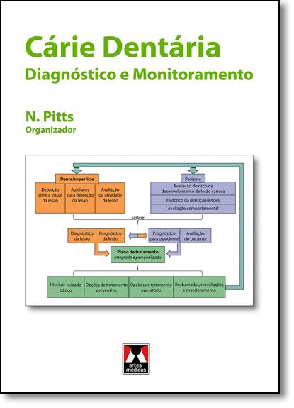 Cárie Dentária: Diagnóstico e Monitoramento, livro de Nigel Pitts