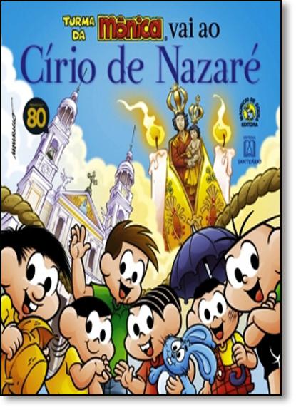 Turma da Mônica Vai ao Círio de Nazaré, livro de Pe. Ferdinando Mancilio