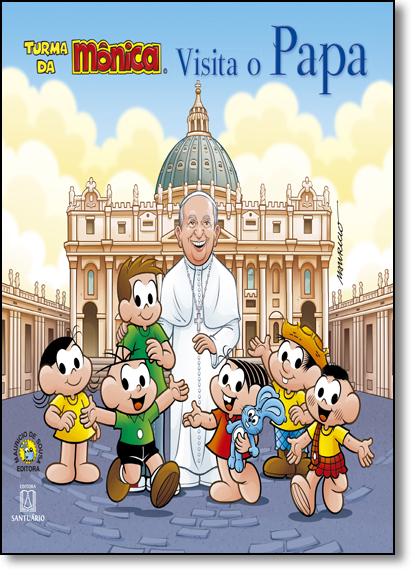 Turma da Mônica Visita o Papa, livro de Pe. Ferdinando Mancilio