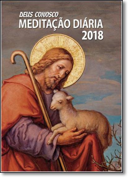 Deus Conosco Meditação Diária 2018, livro de Editora Santuário