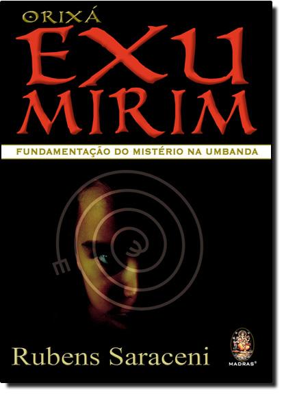 Orixa Exu Mirim, livro de Rubens Saraceni
