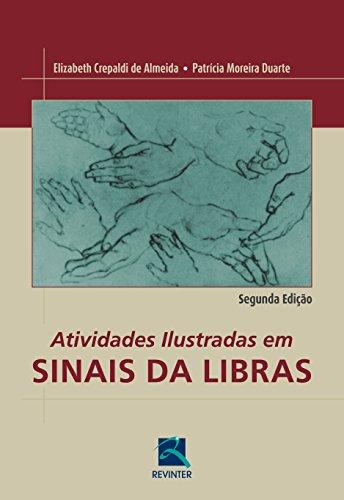 Atividades Ilustradas em Sinais da Libras, livro de Elizabeth Crepaldi Almeida