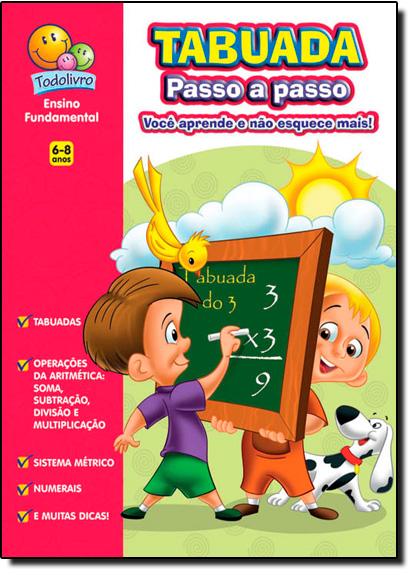 Tabuada Passo a Passo, livro de Maria Angela Finzetto