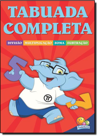 Tabuada Completa, livro de Maria Angela Finzetto