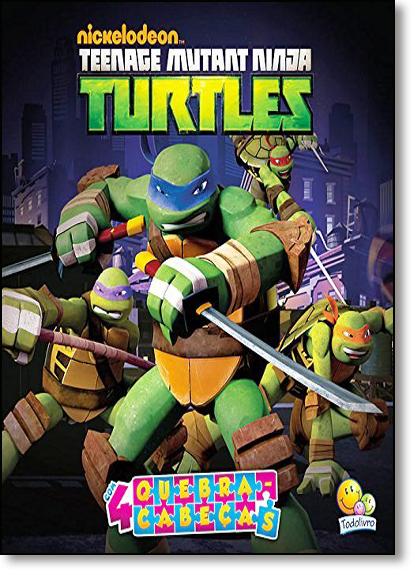 Teenage Mutant Ninja Turtles - Coleção Quebra-cabeças, livro de Nickelodeon