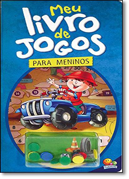 Meu Livro de Jogos... Meninos, livro de Brijbasi Art Press