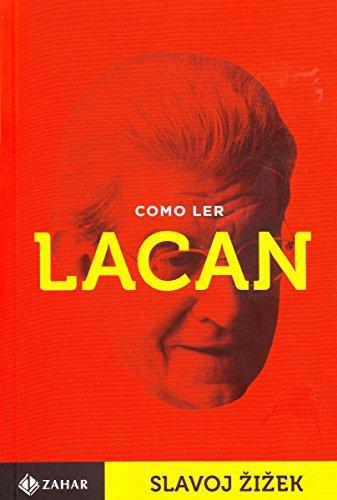 Como Ler Lacan, livro de Slavoj Zizek
