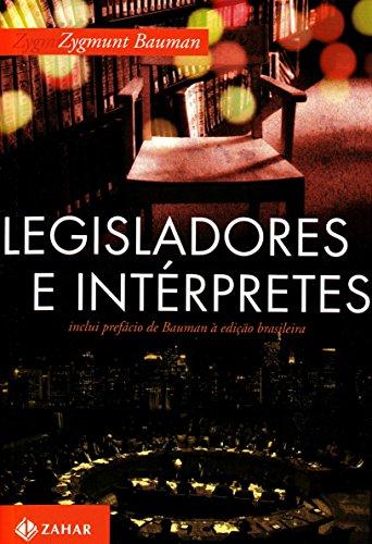 Legisladores E Intérpretes, livro de Zygmunt Bauman