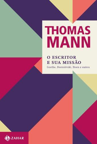 O escritor e sua missão, livro de Thomas Mann