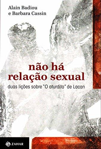 Não há relação sexual, livro de Alain Badiou , Barbara Cassin