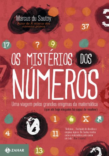Os Mistérios Dos Números, livro de Marcus Du Sautoy