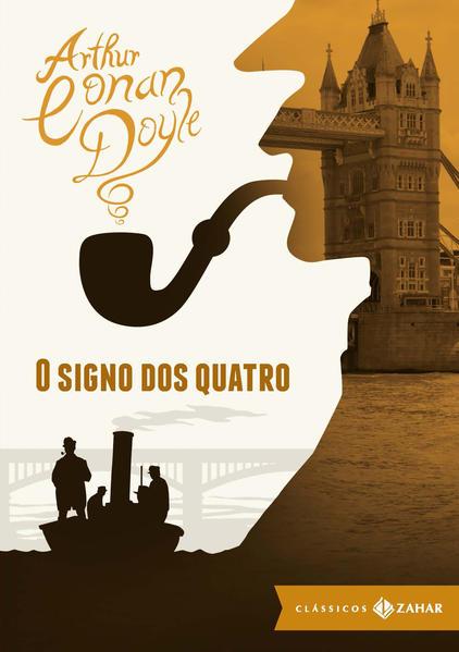 O signo dos quatro - edição bolso de luxo, livro de Arthur Conan Doyle