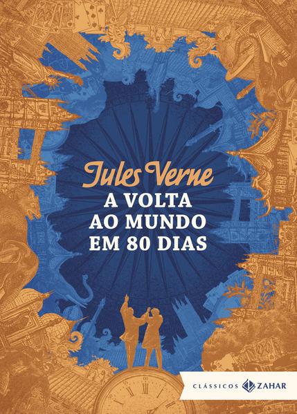 A volta ao mundo em 80 dias: Edição bolso de luxo, livro de Jules Verne