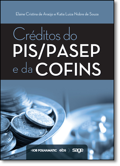 Créditos do Pis Pasep e da Cofins, livro de Elaine Cristina de Araújo